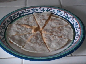 No, no, no. I mean a REAL quesadilla.
