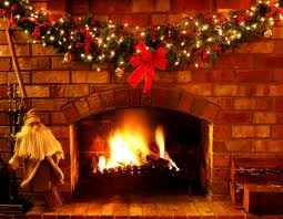 Christmas fireplace from Write a Writing