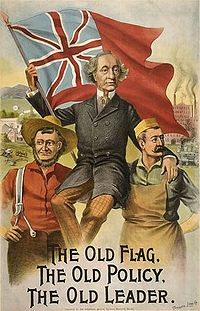 Canadian 1891 Election poster from Wikipedia