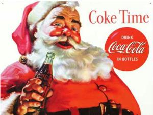 Coca Cola Santa image from Snopes