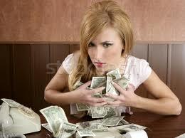 My money! Mine!