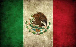 Mexican flag image from International Service Learning