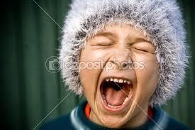 Screamer image from Deposit Photo