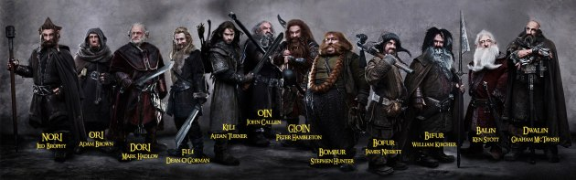 The Dwarves from The Hobbit image from Geektown