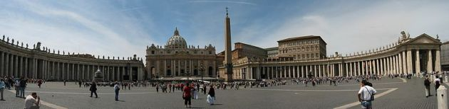 St Peters Square image from Francois Malan
