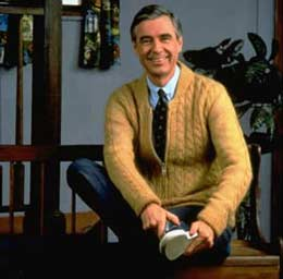 Fred Rogers image from Gratefulness