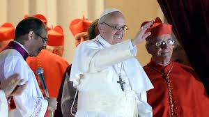 Meet the new pope - Cardinal Jorge Bergoglio, Archbishop of Buenos Aires, was elected by the College of Cardinals after only five rounds of voting. Image from ABC News.