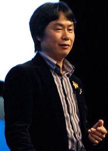 Shigeru Miyamoto image by Vincent Diamante