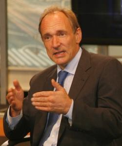 Sir Tim Berners-Lee image from John S. and James L. Knight Foundation