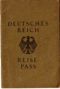 German 1920s passport image from Profilm