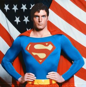 Patriotic Superman image from MoviePosterDB