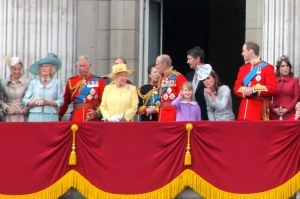 British Royal Family portrait from The Backbencher