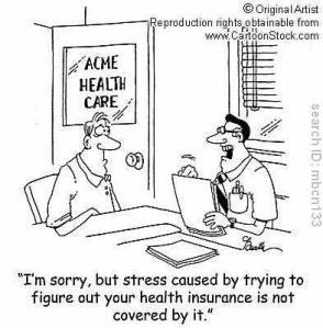 Health Insurance Cartoon from East Coast Health Insurance