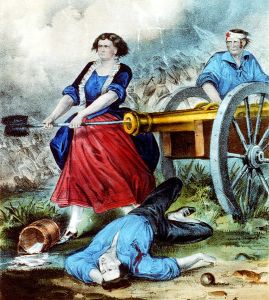 Molly Pitcher image from Wikipedia