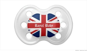 Royal Baby Pacifier image from CNN Money