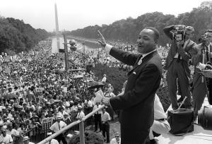 US civil rights leader Martin Luther King,Jr.