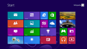 Windows 8 Start Screen image from Wikipedia