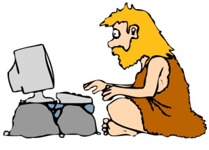 Caveman Computer image from Cormack Consultancy