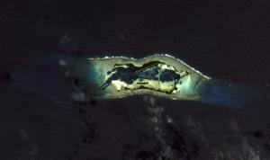 Palmyra Atoll image from NASA