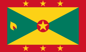 Flag of Grenada image from Wikipedia