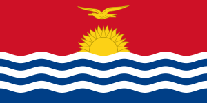 Flag of Kiribati image from Wikipedia