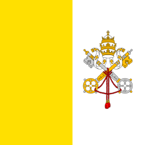 Flag of the Vatican City image from Wikipedia