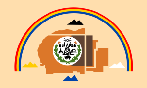 Navajo Flag image from Wikipedia