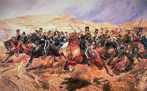 Charge of the Light Brigade image from the Daily Telegraph