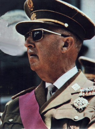 Francisco Franco, the Spanish dictator whose memory still haunts much of Spanish politics