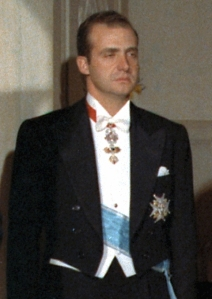 Juan Carlos as Prince image from Wikipedia
