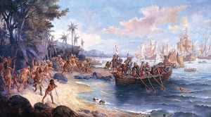 The Discovery of Brazil image from Wikipedia