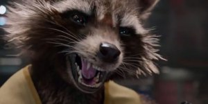 Yes, talking raccoon and all.