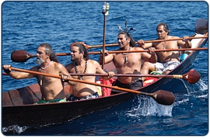 Chumash canoe image by Robert Schwemmer