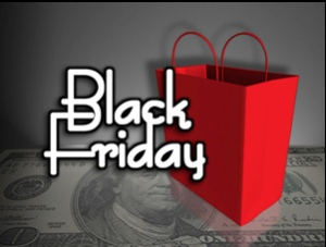 Black Friday logo from Purple Slog