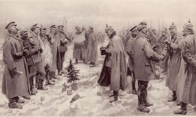 Christmas Truce image by A. C. Michael