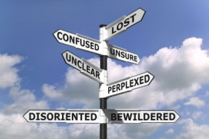 Lost and Confused Signpost from Youthworker Movement