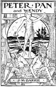 Peter Pan image from Wikimedia Commons