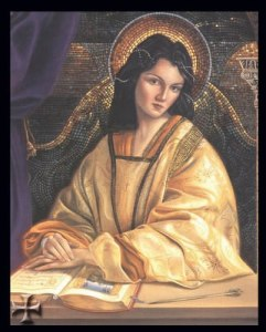 Anna Comnena image from cover of Anna of Byzantium by Tracy Barrett