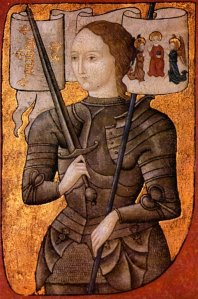 St. Joan of Arc image from Wikipedia