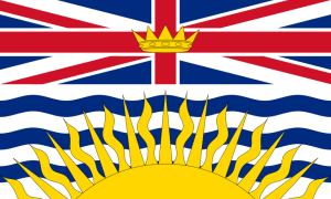 Flag of British Columbia from Wikipedia
