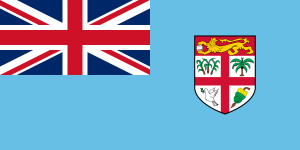 Flag of Fiji from Wikipedia
