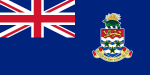 Flag of the Cayman Islands from Wikipedia