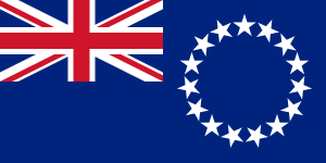 Flag of the Cook Islands from Wikipedia