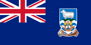 Flag of the Falkland Islands from Wikipedia