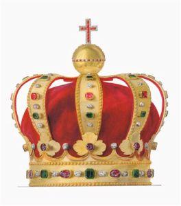 Crown of George XII of Georgia image by Fyodor Solntsev