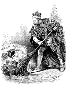 George V cartoon from Punch magazine