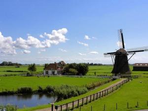 Netherlands Landscape by David Mark