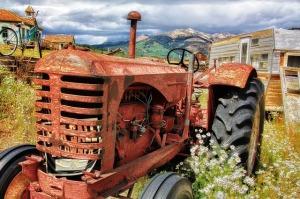 Tractor image by Thomas McSparron