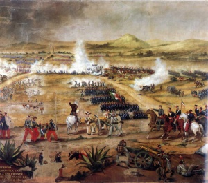 Battle of Puebla image from Wikipedia