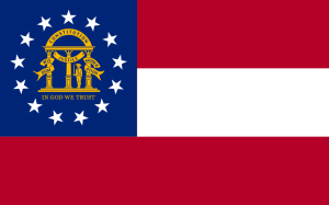 Flag of Georgia 2003 image from Wikipedia